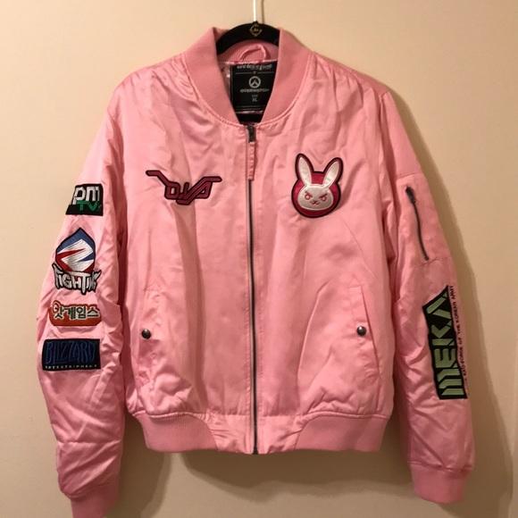 e30d96e62 Overwatch D.Va Bomber jacket.